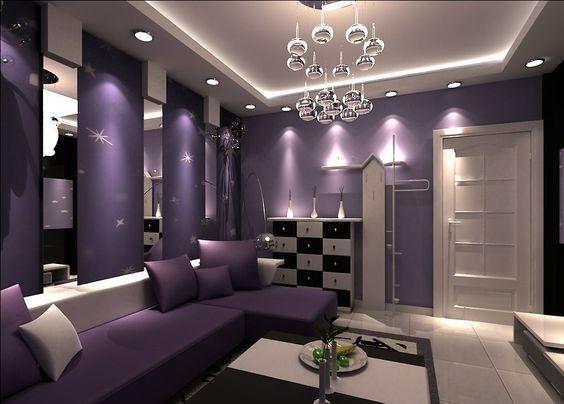 Purple Living Room Furniture | Living Room | Pinterest | Gray