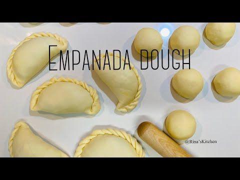 4 Ingredients Empanada Dough Recipe Easy Empanada Dough Ryukenphajed Rina S Kitchen Youtube In 2021 Empanadas Dough Empanadas Recipe Dough Empanadas