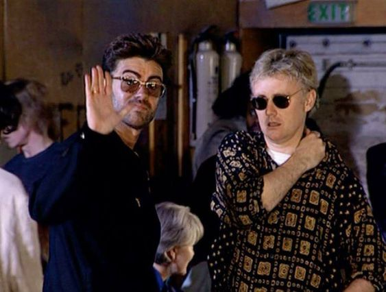 George Michael and Roger Taylor from Queen | George michael wham, George  michael, Michael love