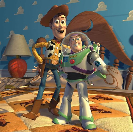 *WOODY & BUZZ LIGHTYEAR ~ Toy Story II