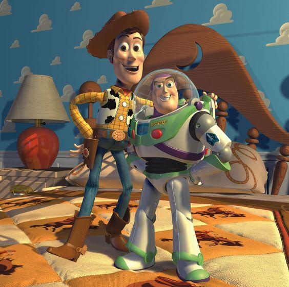 *WOODY & BUZZ LIGHTYEAR ~ Toy Story II