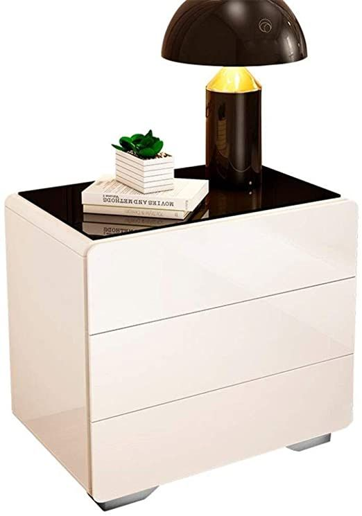Bedside Table Stable White Simple Modern Bedside Cabinet Storage Cabinet European Style Storage Fa In 2020 Simple Bedside Tables Bedside Table Storage Nightstand Decor