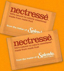 FREEbie: Splenda Nectresse Sweetner Sample!