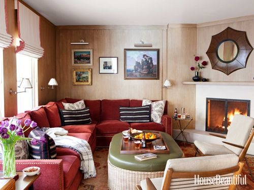 A Beach Cottage Makeover | Peter dunham Sectional sofa and Beach cottages : dunham sectional - Sectionals, Sofas & Couches