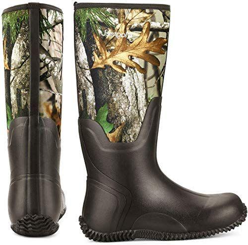 New Magreel Waterproof Rubber Boots Men Women Insulated Neoprene