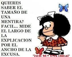 Pensamientos ...: Vamos por Mafalda.