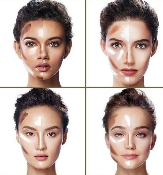 Kontur 222 888 With Images Contour Makeup Face Contouring