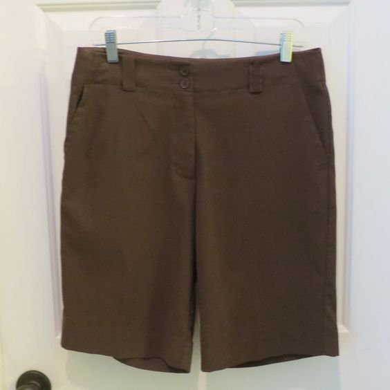 50% OFF EVERYTHING!!  Nike Golf Brown Shorts Size 8 or Med. S #NikeGolf #Shorts