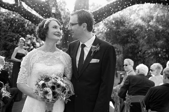 A vintage wedding in Miami 1.26.13 -- happy couple