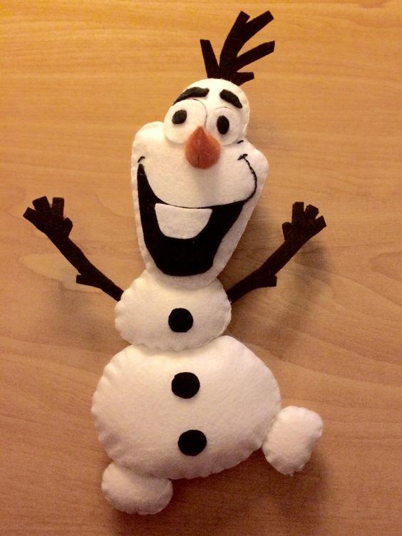 Olafito felt #frozen #Olaf