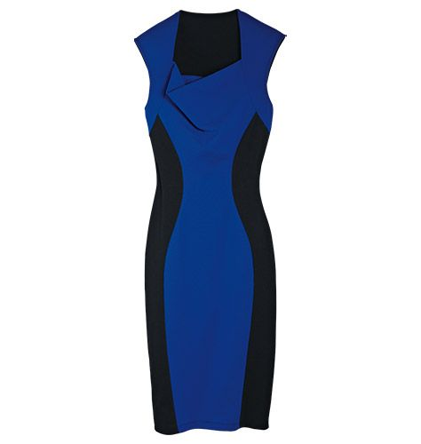 Define Your Shape Dress  Don't just flatter your figure, enhance it! Get an instant hourglass shape. Look slimmer, curvier, sexier! Cotton/polyester with spandex. Machine wash and dry.: