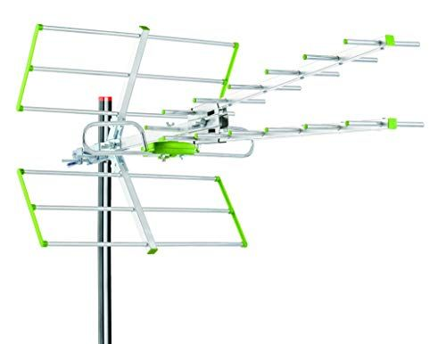Tree New Bee Out Door Tv Attic Hdtv Uhf Antenna Up To 100 Mile Vhf Uhf Channels Long Range With Compact Design Optimized For Fullhd 1080p And 4k Ready Hdtv