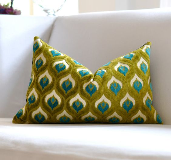 Love this!  $60 is a little much for a pillow, but it is lovely.