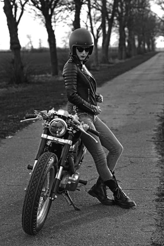 That night she stole my motorcycle                              …