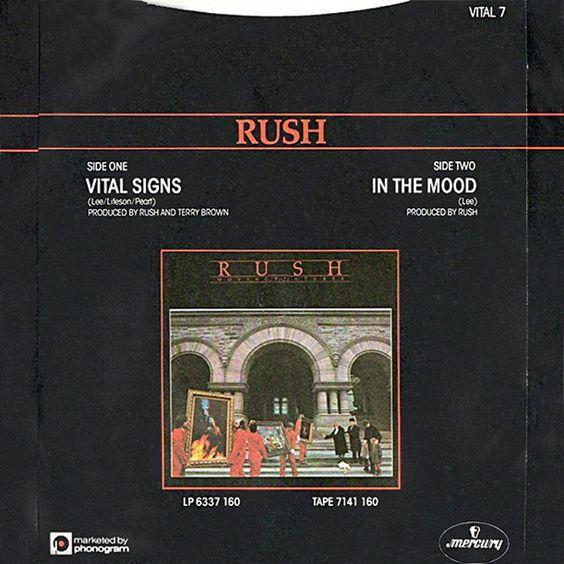 Rush – Vital Signs (single cover art)