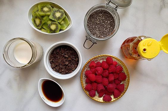Easy and sooo yummy! Try This Healthy, Make-Ahead Chia Pudding Breakfast - SELF