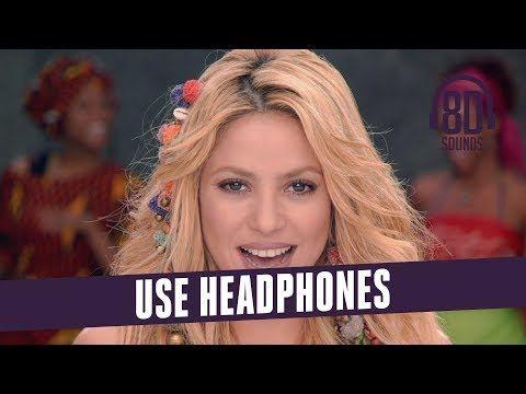 Shakira Waka Waka Lyrics This Time For Africa 8d Audio
