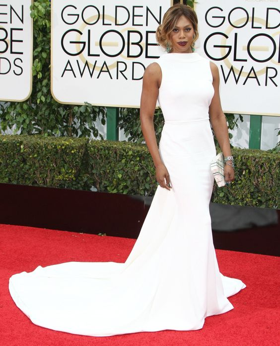 golden globes 2016 red carpet laverne cox - Google Search: