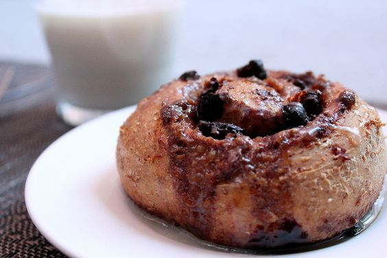 dried cranberry cocoa cinnamon roll by pastryaffair, via Flickr