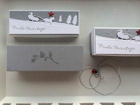 Willkommen auf meinem Blog!  Schön dass du vorbei schaust!   Heute zeige ich euch wieder mal 6 Geschenk Boxen für Weihnachten - dieses Mal i...