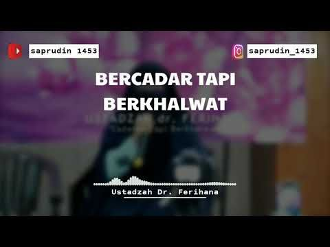 Ustazah Dr Ferihana Bercadar Tapi Berkhalwat Ceramah Pendek Youtube Instagram Video