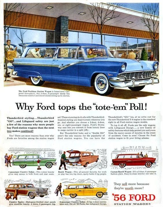 1956 Ford ad
