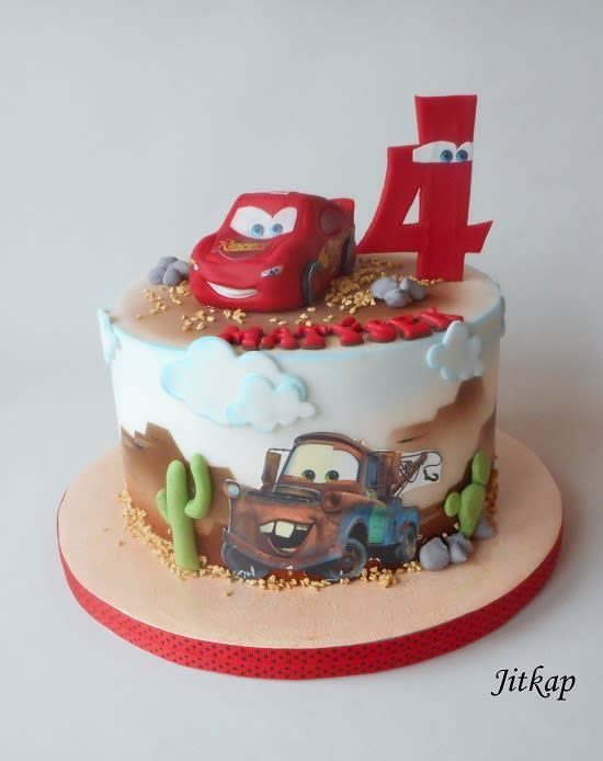 Collections Of Disney Cars Birthday Cake Designs