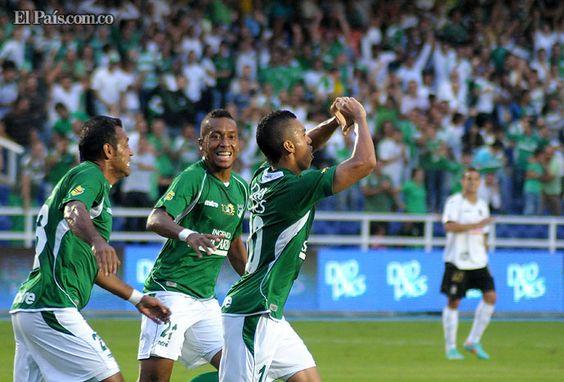En juego correspondiente a la primera fecha de la Liga Postobón I de 2013, el Deportivo Cali de Leonel Álvarez derrotó por 2-1 al Once Caldas de Santiago 'Sachi' Escobar, la noche del sábado en el estadio Pascual Guerrero.