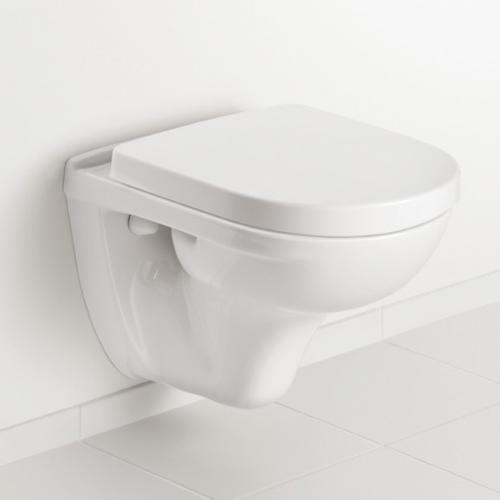 Villeroy Boch O Novo Compact Wall Mounted Washdown Toilet L 49 W 36 Cm White Toilet Villeroy Boch Wall Mount