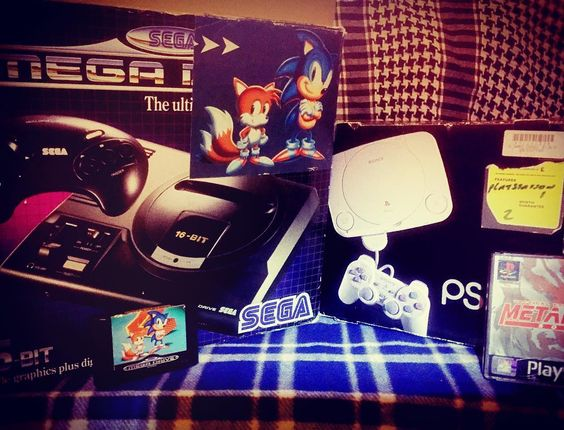 On instagram by danny896 #segamegadrive #microhobbit (o) http://ift.tt/1QimgSP really can't decide what to play tonight? #sega  #megadrive #ps1 #psone #playstation #sonic #metalgearsolid #gamers #gamer #retro #like4like #likeforlike #random #cool #bored #gamesconsole #gamesconsoles