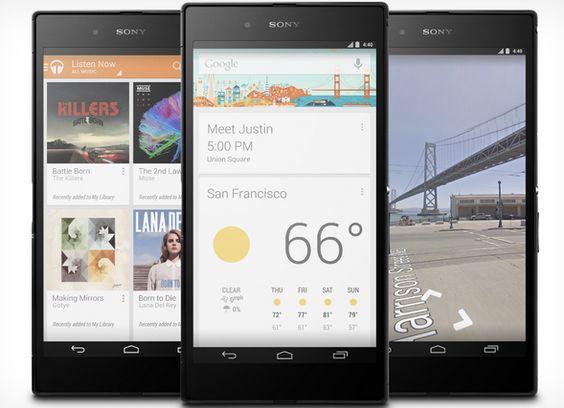 Ya a la venta la edición Google Play del Sony Z Ultra