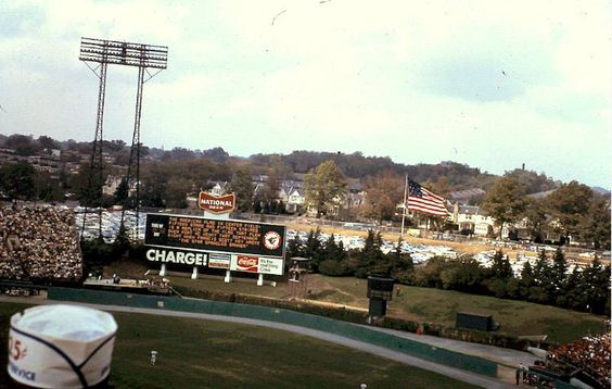 """Love the """"Charge!"""" sign here at Memorial Stadium. #Orioles"""