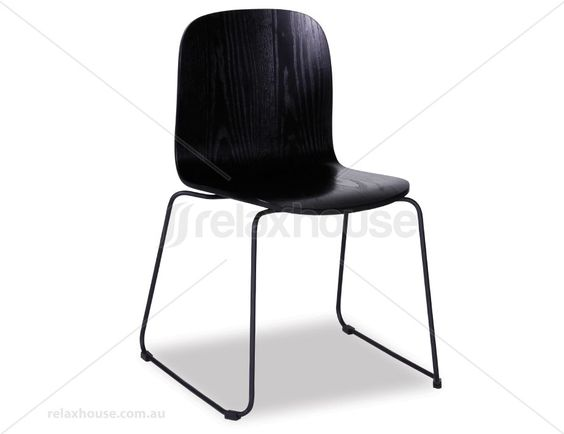 explore steel sled wood steel and more ash chairs sled dining chairs