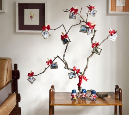 - Como fazer de árvore Natal artesanal