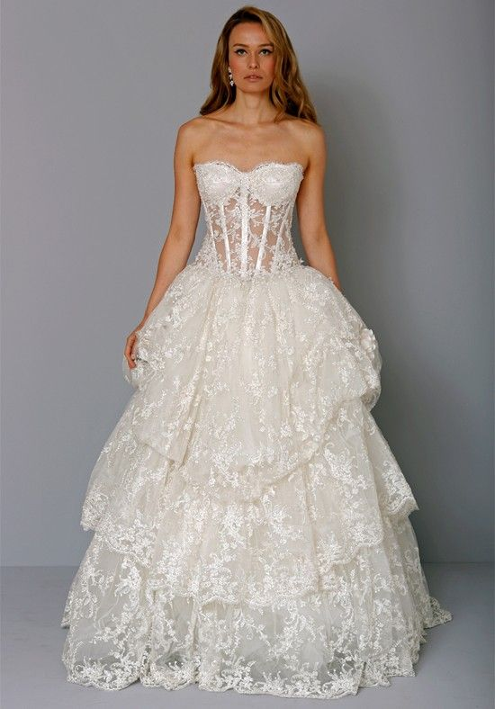Pnina Tornai for Kleinfeld 4232 $255.99 Ball Gown Wedding Dresses