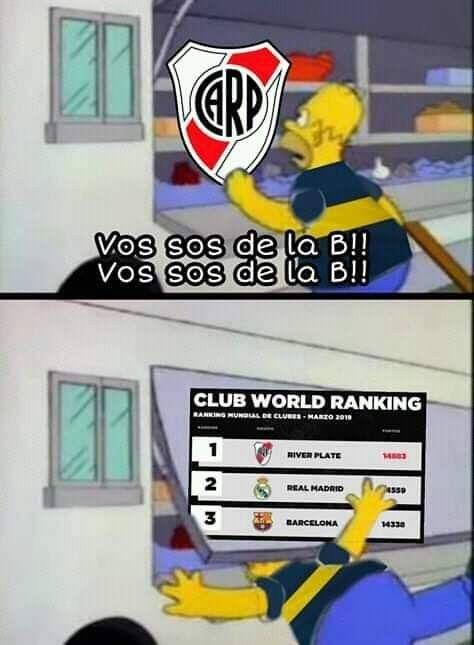 Jajajajajja Cargadas A Boca Memes Para Boca Imagenes De River Plate