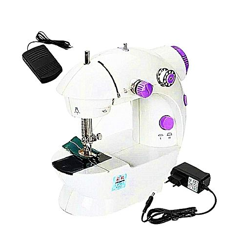Mini Sewing Machine White Sewing Machine Online Sewing