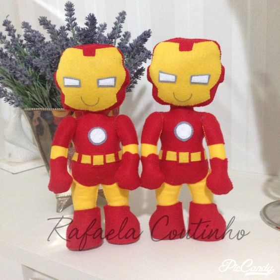 Meus gêmeos de ferro.... Iron Man adaptado da apostila Linda Lolita