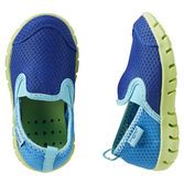 Rubber soles make these bright water shoes perfect for play in the pool and out.