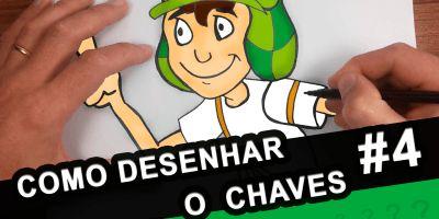 Como-Desenhar-o-Chaves-El-Chavo-Colorido