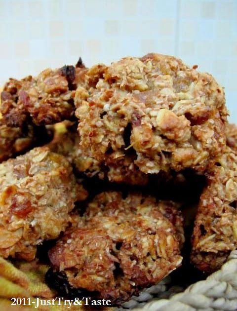 Resep Oatmeal Cookies Sehat Camilan Bagi Yang Sedang Diet Resep Oatmeal Kue Gandum Makanan Sehat