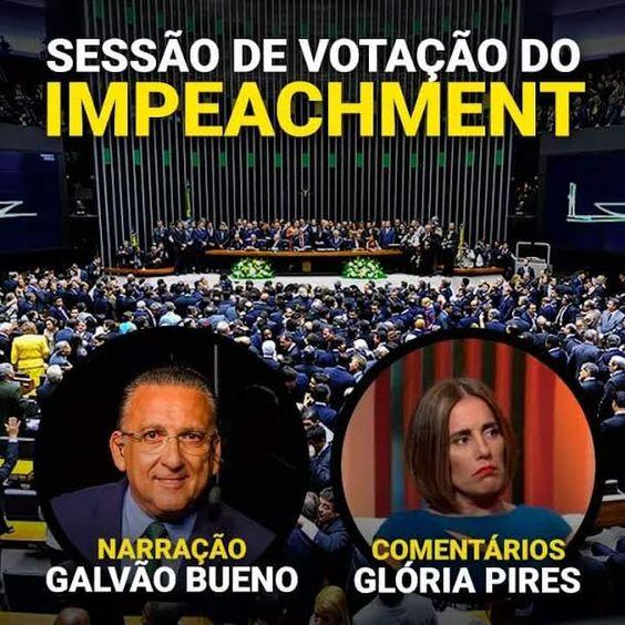 Começou a Sessão de Votação do Impeachment