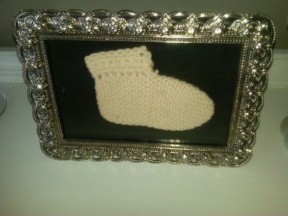 My first shoe made by my mom <3