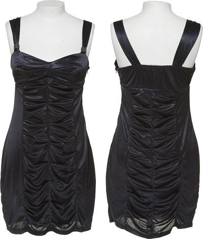 15DOLLARSTORE.COM - FRIENDS Stretch Pleated Party Dress