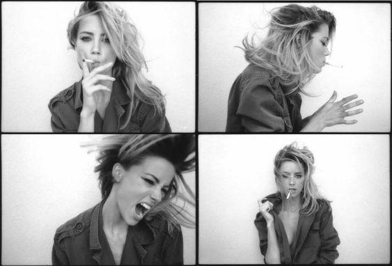 AMBER_SMOKING Amber Heard by Tasya Van Ree