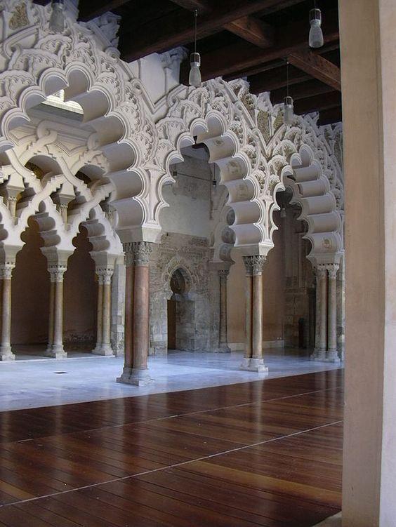 Zaragoza La Aljafería - Palacio taifa