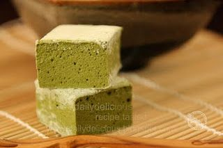 Green tea marshmallow!
