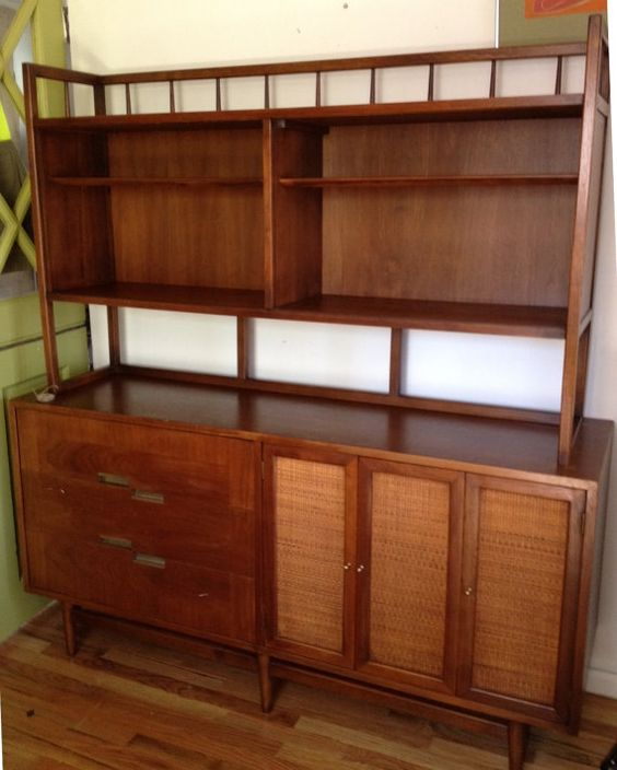 Mid century american of martinsville credenza similar for Vintage american martinsville bedroom furniture