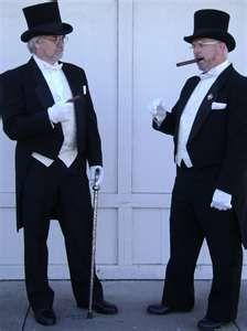 Victorian Aristocratic Gentlemen's Costumes      dallasvintageshop.com