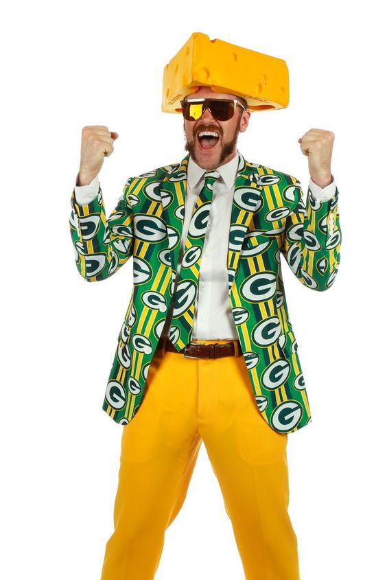 Pre-Order - The Green Bay Packers Suit Jacket - Delivery by Early October 2016